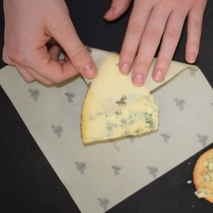 Cling Cloth Medium Pack beeswax food wraps by Cling Cloth made in the UK, perfect for cheese.