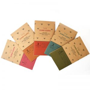 Launched! Cling Cloth Beeswax Food Wraps made in the UK - Packaging